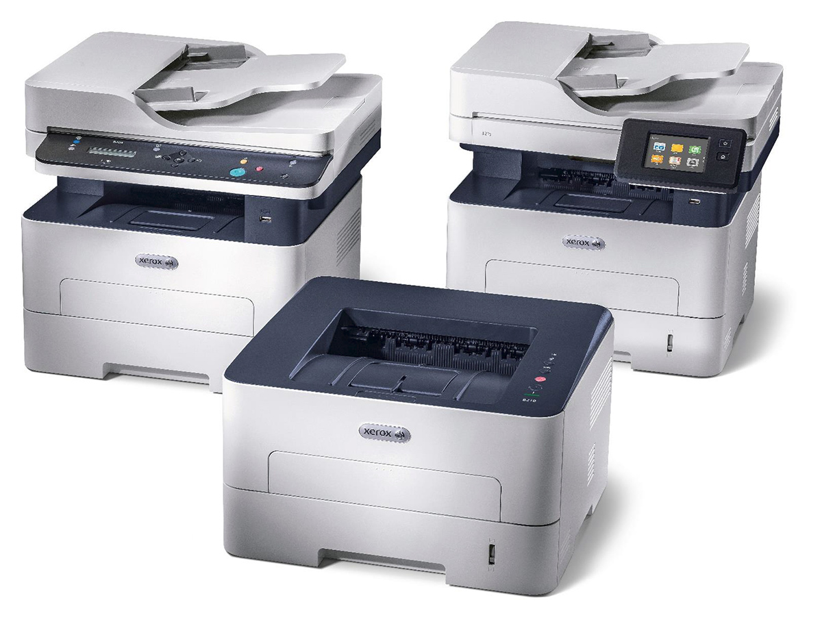 Обзор новых аппаратов Xerox B210, B205 и B215