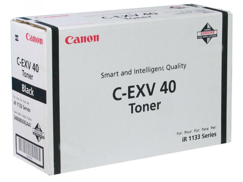 Тонер-картридж Canon C-EXV40 (3480B006)