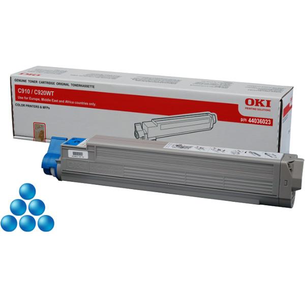 Тонер-картридж OKI 44036023 для C910, C920WT голубой (15,000 стр.)