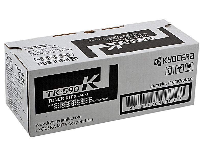 Тонер-картридж Kyocera TK-590K черный