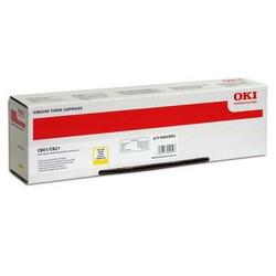 Тонер-картридж OKI 44643005 для C801, C821 желтый (7,300 стр.)