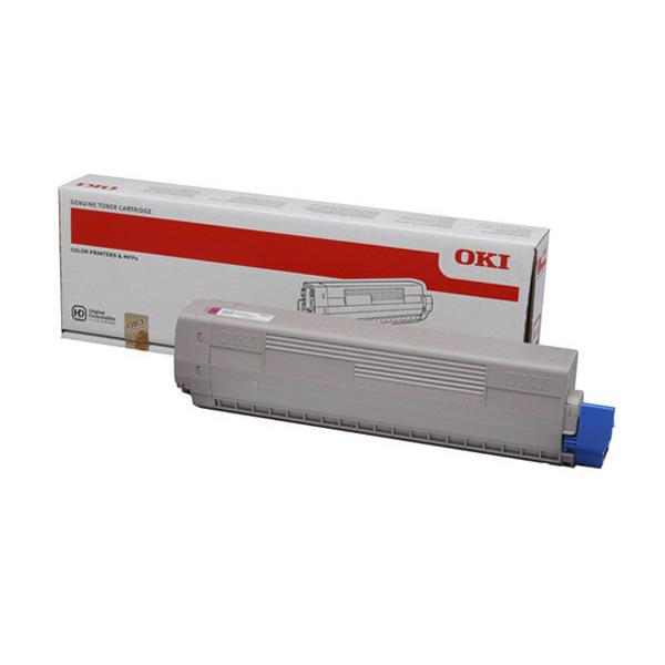 Тонер-картридж OKI 44844506 для C831, C841 пурпурный (10,000 стр.)
