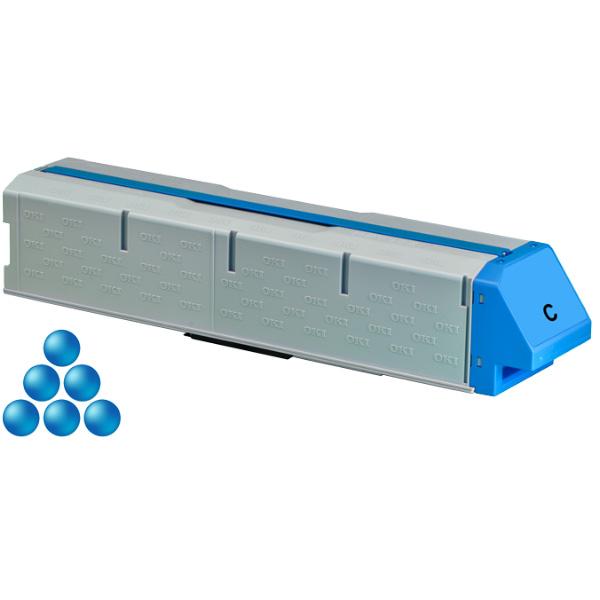 Тонер-картридж OKI 45536507 для C931 голубой (38,000 стр.)