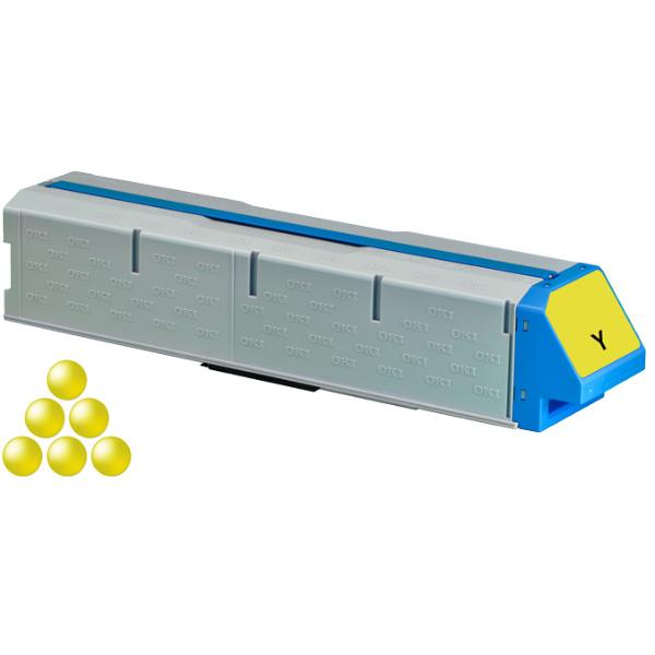 Тонер-картридж OKI 45536505 для C931 желтый (38,000 стр.)