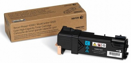 Тонер-картридж Xerox 106R01601 голубой