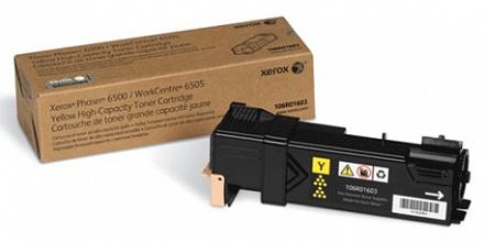 Тонер-картридж Xerox 106R01603 желтый