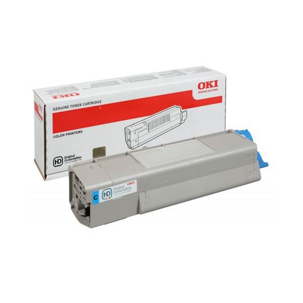 Тонер-картридж OKI 46490407 для C532, C542, MC563, MC573 голубой (1,500 стр.)