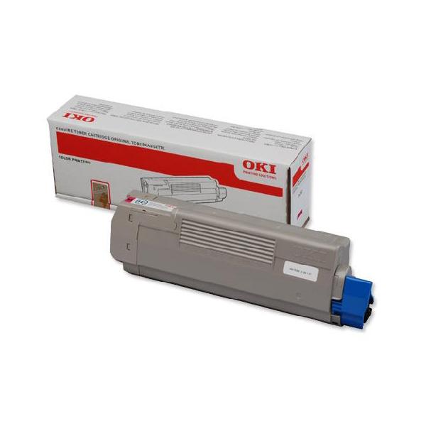Тонер-картридж OKI 46490630 для C532, C542, MC563, MC573 пурпурный (6,000 стр.)