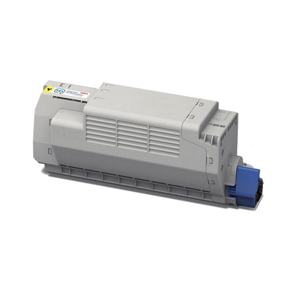 Тонер-картридж OKI 45396301 для MC760, MC770, MC780 желтый (6,000 стр.)