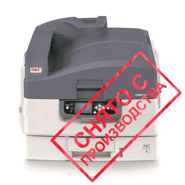 Принтер OKI C920WT с белым тонером (01329801)