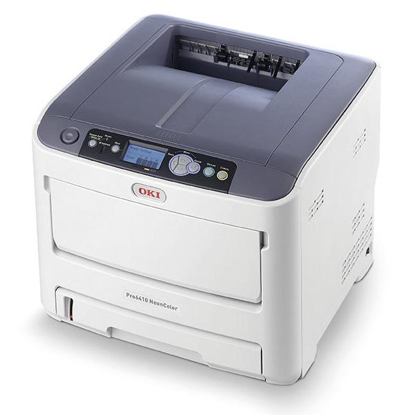 Принтер OKI Pro6410 NeonColor с неоновыми тонерами